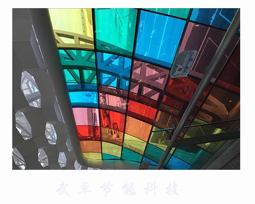 彩色装饰膜