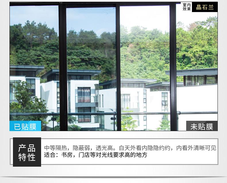 武汉建筑窗户隔热膜可以用于家居